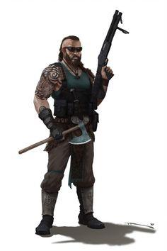 Zombie Apocalypse Outfit, Apocalypse Survivor, Apocalypse World, Post Apocalypse, Zombie Rpg, Game Character, Character Design, Apocalypse Character, Fallout
