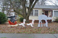 Awesome #StarWars Christmas Yard Display