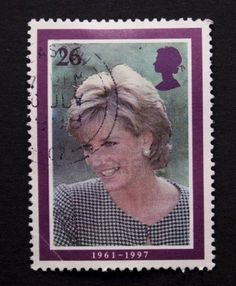 Lady Diana - British postage stamp