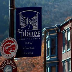 Jim Thorpe, PA. -Named after the legendary athlete