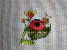 Cross Stitch - Panel for Kids Company Project - stitched July 2011