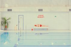 Photographer, Swimming Pool, Grade, Washed Out, Desaturated, Bright, Photography, Fashion, Humanity, Colour Swimm_its_nice_that_14