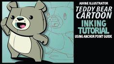 Adobe Illustrator Tutorial: Teddy Bear Inking