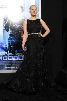 Abbie Cornish in Nicholas Oakwell at Robocop premiere