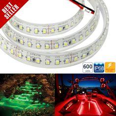 series Weatherproof 600 High Power LED Strip Light / sold by reel Rgb Led Strip Lights, Led Panel Light, Led Flood Lights, Led Light Strips, Led Ceiling Lights, Bar Lighting, Strip Lighting, Flexible Led Light, Led Tubes