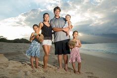 Hawaii beach photoshoot: A family story at Kanaha Beach, Maui.