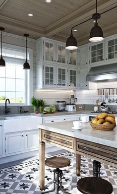 61+ New Trend Colorful Kitchen Decorating Ideas for 2020 Part 8 ; kitchen cabinets; kitchen design; kitchen decor; kitchen design ideas; kitchen decor ideas; kitchen design tool