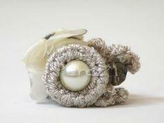 Anillo Textil / http://marcelaperezjoyastextiles.blogspot.com.ar/