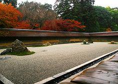 Ryuanji temple, Kyoto.