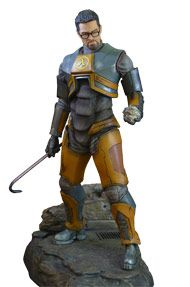 Half Life Gordon Freeman Statue by Gaming Heads