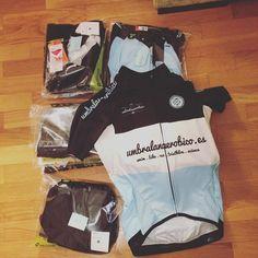 Un lujo que clientes/amigos luzcan #umbralanaerobico en sus entrenes o carreras! #ciclismo #entrenamiento #cyclingkit