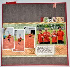 Hershey Track Meet - Scrapbook.com