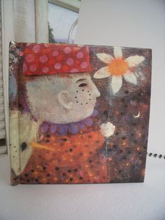 Vintage 1970  I Paint the Joy of a Flower by by SheilasBlessings