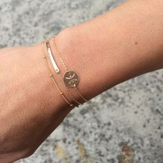Delicate Zodiac Bracelet Gold, Silver or Rose Gold / Horoscope Gold Bracelet Scorpio / Personalized Dainty Gold Bracelet Astrological Sign