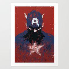 The Captain Art Print by Purple Cactus - $18.00