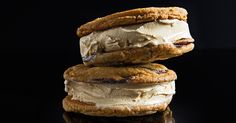 Jacques Torres takes the ice cream sandwich to a new level with his famously buttery chocolate chip cookies and cool, creamy iced tea ice cream.