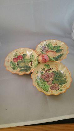 Carlton Pottery & Glass Devoted Mid Century Retro 50 S Carltonware Small Divided Dish Yellow