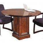"$649.99  Kathy Ireland Home by Martin Furniture - Mt View 48"" Gathering Table & Base - IMMV48RTT- IMMV48RTB"