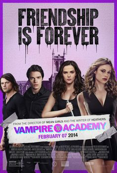 "The Official ""Vampire Academy"" Poster Will Get Your Blood Pumping"