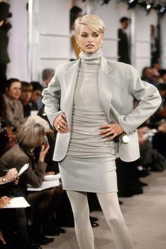 Donna Karan RTW F/W 1991 Model: Linda Evangelista