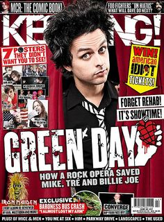 Green Day Green Day Band, Billie Joe Armstrong, Music Magazines, Foo Fighters, Print Magazine, Paramore, Music Love, Music Bands, Short Film