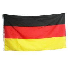 90 x 150cm Deutschland Flagge
