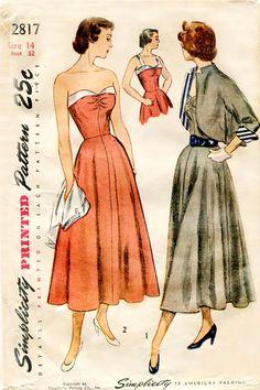 1940s sewing Pattern vintage sundresses