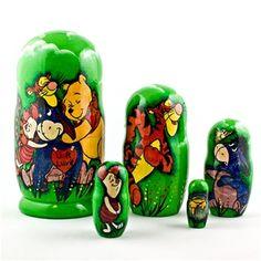 Winnie the Pooh Russian Nesting Dolls