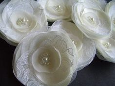 Hey, I found this really awesome Etsy listing at https://www.etsy.com/listing/166094512/7-bridal-hair-accessories-ivory-white