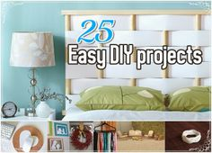 Diy Projects: 25 Easy DIY Projects