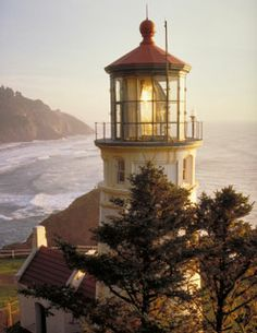 I love the ocean and I've always been fascinated by lighthouses...