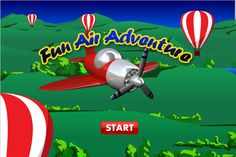 Glide weightlessly through the sky and play pilot in Fun Air Adventure.
