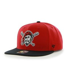 5b486543efc MLB Pittsburgh Pirates Sure Shot Two Tone  47 CAPTAIN Snapback Hat Detroit  Game