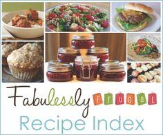 Free Recipe Index