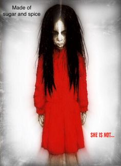 Creepy in Red Doll