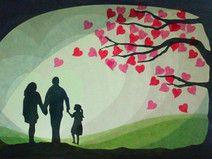 Baum der Liebe mit Kind