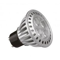 Kosnic 6W KTC GU10 LED GU10 LED, 6 Watt, 50 Watt Halogen Replacement, 40/60° Beam Angle, 300-330 Lumens, 3 Year Guarantee