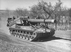 240 mm Howitzer Motor Carriage T92, 1945.