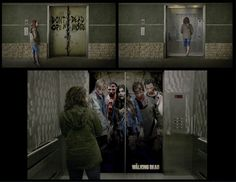 Ambient piece using the elevator for the Walking Dead. SDPS student Christian Capuchino