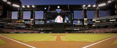Chase Field (Phoenix, AZ) I saw a few games here when I was living in Flagstaff and it was called Bank One Ballpark (The BOB)
