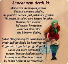 sözler ~Grandma used to say: ...