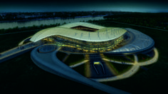 Populous is one of the world leaders in stadium and arena design with offices in six countries and exceptional architectural schemes the world over. The latest string to the Populous bow is the Rostov Stadium for the 2018 FIFA World Cup in Russia. Cultural Architecture, Architecture Jobs, Museum Architecture, Architecture Magazines, Futuristic Architecture, Biomimicry Architecture, Parametric Design, Organic Architecture, Soccer Stadium