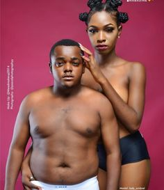 GOSSIP, GISTS, EVERYTHING UNLIMITED: Comic Actor & Ex Beauty Queen Pose Semi-Nude On Po...
