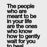 People who are meant to be in your life