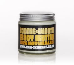 Raw Skincare Natural Body Butter - A beautifully simple body butter for those with sensitive skin.