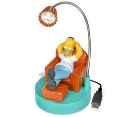 Jumpin Banana Homer Simpson USB Desk Lamp - Model JB042 http://order.sale/wNqc