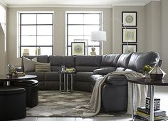 Gray Couch With This Wall Color
