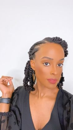 4c Natural Hairstyles Short, Black Hair Updo Hairstyles, Feed In Braids Hairstyles, Protective Hairstyles For Natural Hair, Natural Hair Updo, Long Natural Hair, Crown Hairstyles, Updos For Black Hair, Braided Hairstyles