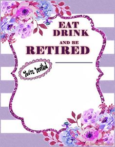 Retirement Party Invitations Retirement Party