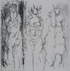"""""""Untitled"""", n.d., Peter Chapin, engraving on paper, 3 7/8 x 3 7/8 in. Ann Shuffler Piephoff Memorial Gift, 1971. 1971.1789"""